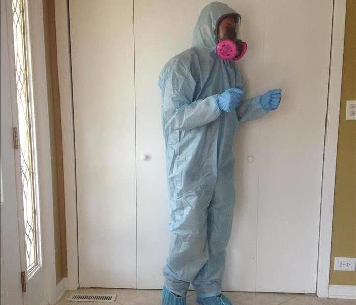 Mold Remediation PPE in Southern McHenry County