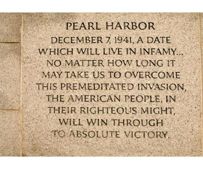 General National Pearl Harbor Remembrance Day