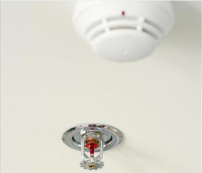 Fire Damage Smoke Detector Safety