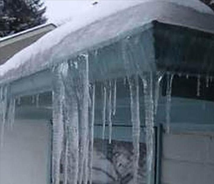 Water Damage Ice Damming on Homes